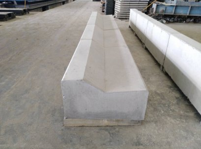 Concrete Curb and Gutter , Mountable Curb and Gutter (คันหินรางน้ำ,คันหินรางตื้น)