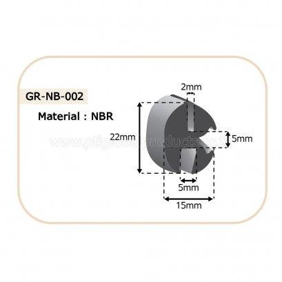 ซีลยางขอบกระจก GR-NB-002