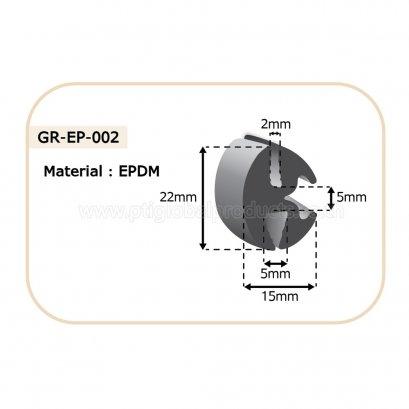 ซีลยางขอบกระจก GR-EP-002