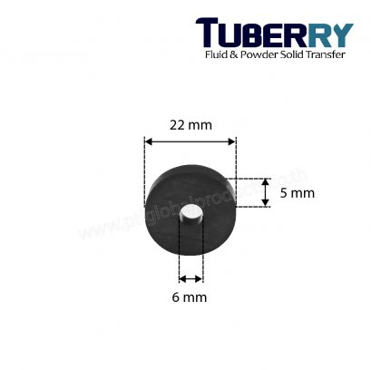 EPDM Tube 6X22 mm