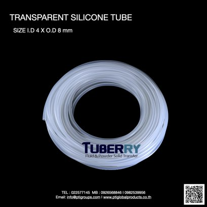 Silicone Tube I.D 4 X O.D 8 mm