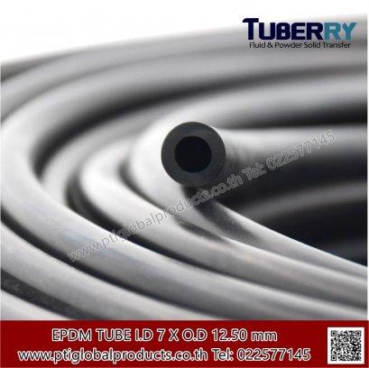 ท่อยางEPDM 7x12.50 mm