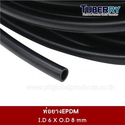 EPDM Tube 6x8 mm