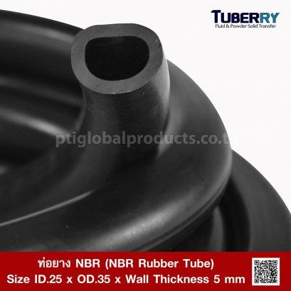 NBR Rubber Tube ID.25 X OD.35 mm.