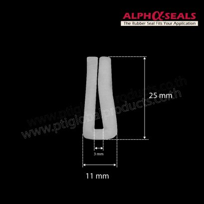 Rubber Seal EPDM 11X25 mm