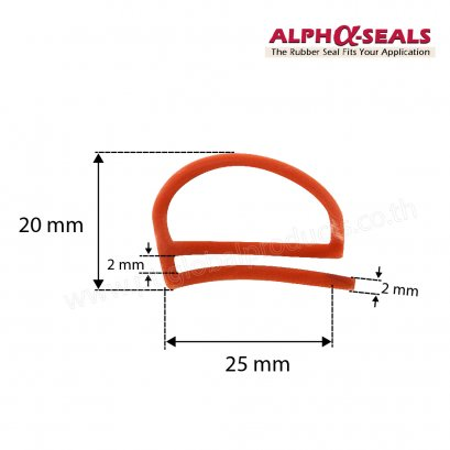 E-profiles Oven Door Seal QH252002R