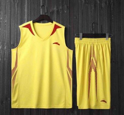 ชุดบาสเกตบอล CBA สีเหลือง