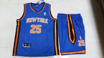 ชุดบาส Rose New York เบอร์ 25 สีน้ำเงิน