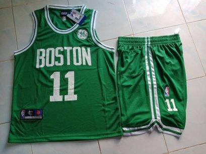 ชุดบาส Boston เบอร์ 11 สีเขียว