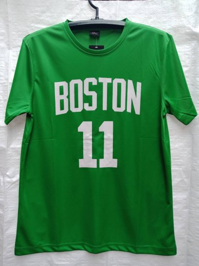 เสื้อบาส Kyrie Irving Boston Celtics เบอร์ 11 สีเขียว