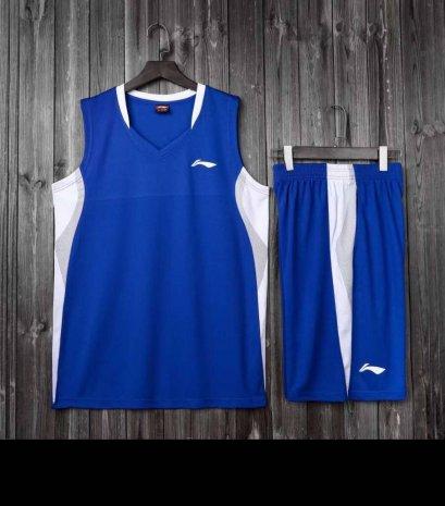 ชุดบาสเกตบอล LI-NING สีน้ำเงิน