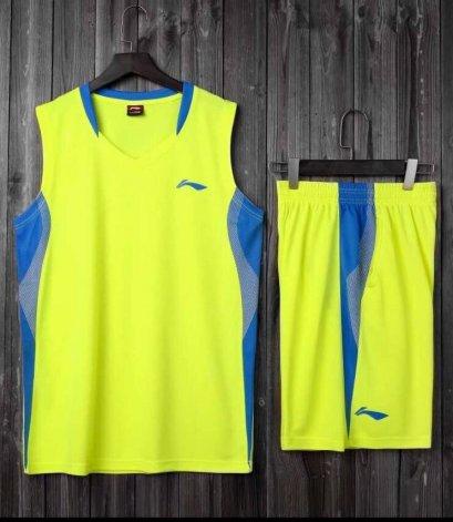 ชุดบาสเกตบอล LI-NING สีเหลือง