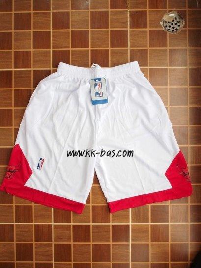 กางเกง NBA Chicago Bulls สีขาว