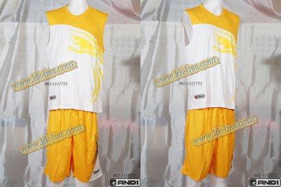 ชุดบาสเกตบอล AND1-Kirin สีเหลือง