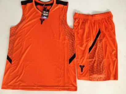 ชุดบาสเกตบอล Kobe2014 สีส้ม