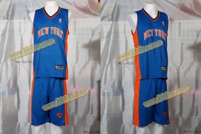 ชุดบาสเกตบอล NBA-Knick สีน้ำเงิน