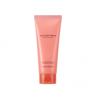 COLLAGEN DREAM VITAMIN C CAPSULE FOAM CLEANSER