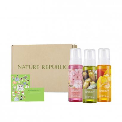 HAND & NATURE CLEAN HAND SOAP SPECIAL SET