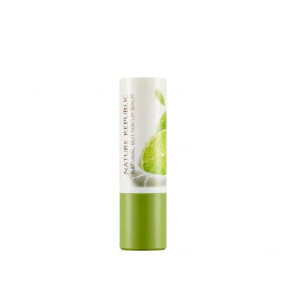 NATURAL BUTTER LIPBALM 05 LIME MINT