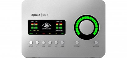 Universal Audio Apollo Solo Heritage Edition (Desktop/Mac/Win/TB3)
