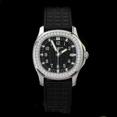 Patek Philippe 5067A-010 Aquanaut Luce Black Dial Diamond size 35m Box and Paper