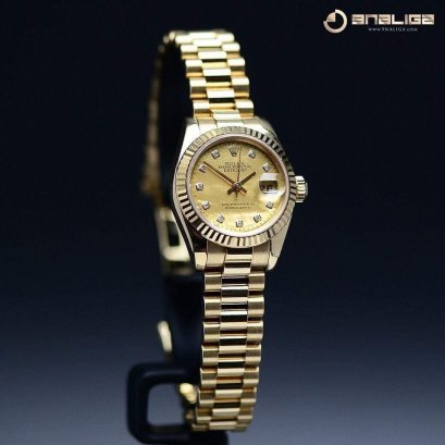 Rolex President Lady Yellow Gold