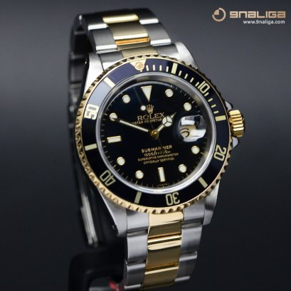 Rolex Submariner Steel & Yellow Gold