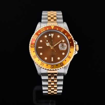 Rolex GMT Master II Rootbeer 2Tone Jubilee