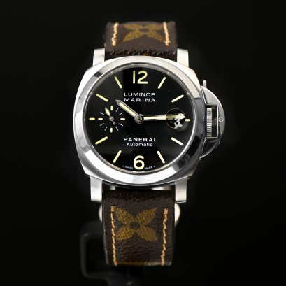 PAM48 : Panerai Luminor หน้าปัดดำ Automatic 40m