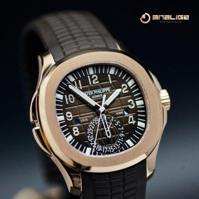 Patek Philippe Aquanaut 5164R Dual Time Rose Gold