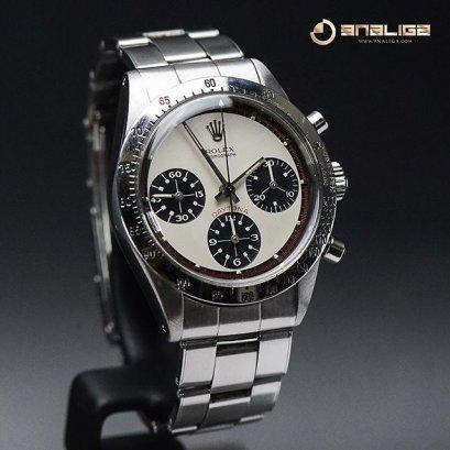 "Rolex ""Poor Man's"" Paul Newman Rolex Daytona ref 6239 circa 1965"