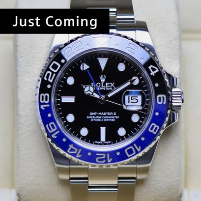 Rolex GMT MasterII Blue Black (Batman)