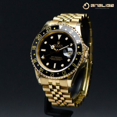 Rolex GMT-MasterII Yellow Gold