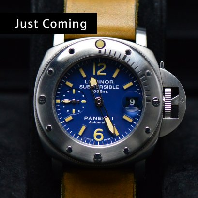Panerai Pam087 Submersible1000 Meters Automatic Steel Man Size