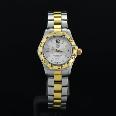 Tag Heuer Aquaracer Lady 28M - Two Tone - Silver Dial