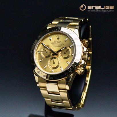 Rolex Daytona Full Yellow Gold Gold Dial Y2008