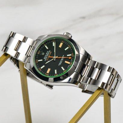 Rolex Millgauss Green Sapphire