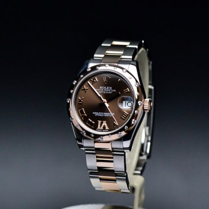 Rolex Datejust 31m Steel & Pink Gold