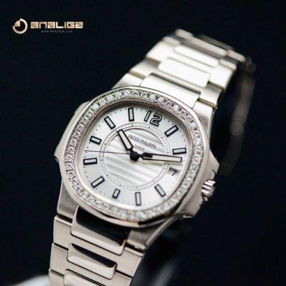 Patek 7010/1G Nautilus White Gold Lady 33m