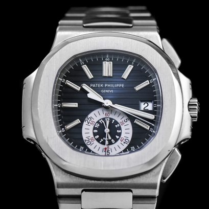 Patek Philippe Nautilus 5980/1A Stainless Steel Blue Dial Chronograph