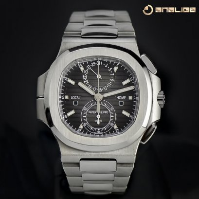 Patek Philippe Nautilus 5990/1A Stainless Steel Travel Time & Chronograph