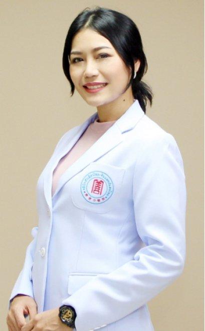 แพทย์จีน กนิษฐา ใจเย็น (หมอจีน จาง เยว่ ฟาง)