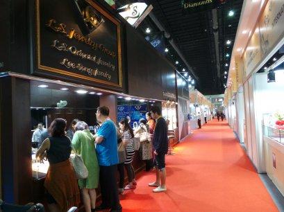 ภาพบรรยากาศงาน Bangkok Gems & Jewelry Fair  ครั้งที่ 53  By  L.S. Oriental Jewelry  (L.S. Jewelry Group)