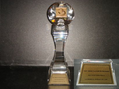FAVORITE DESIGNS AWARD Hot 2009 Vol.II Bangkok Gems & Jewelry ครั้งที่43 by L.S. Jewelry Group