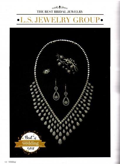 ห้างเพชรหลีเสง ได้รับรางวัล The Best Jewelry of 2018 by Praew Wedding Magazine