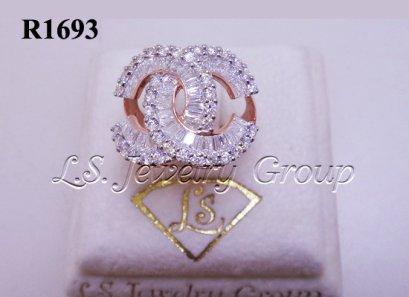 แหวนเพชร chanel H&A เพชร 2.20 Ct.