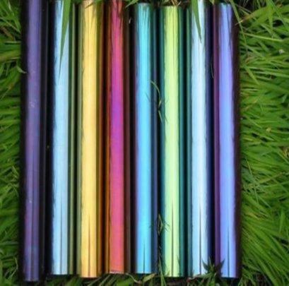 ท่อแสตนเลสกลมเงาเคลือบสี (Color Stainless Steel Tube)