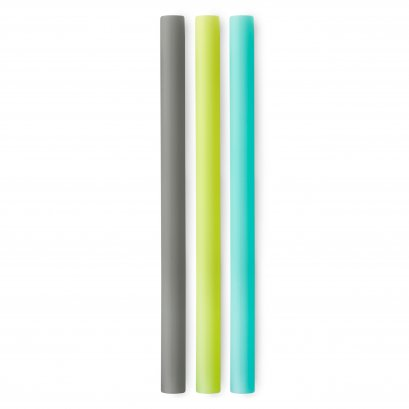 EXTRA WIDE REUSABLE SILICONE BOBA STRAW 3PACK (SEA/FOG/LIME)