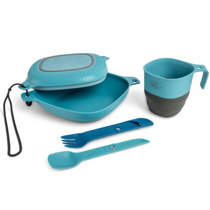 6 PC MESS KIT, CLASSIC BLUE