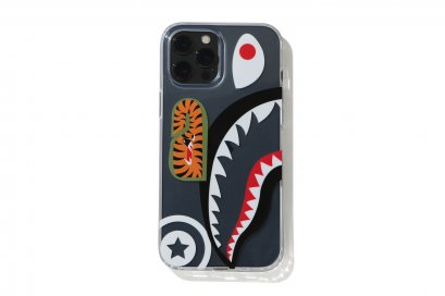 ACC_IPHONE 12 / 12 PRO CLEAR CASE SHARK_S/S 21